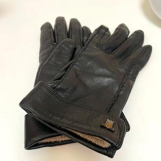 ランバン(LANVIN)のランバンLANVIN レザー手袋 レディース(手袋)