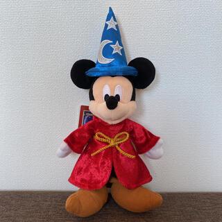 Disney - 魔法使いの弟子 ファンタジア ソーサラー ミッキー ぬいぐるみバッジ