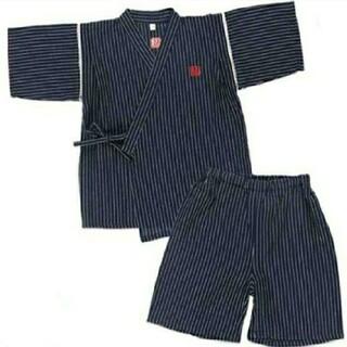 甚平  ベビー キッズ 男の子 80cm じんべい 夏 夏祭り(甚平/浴衣)