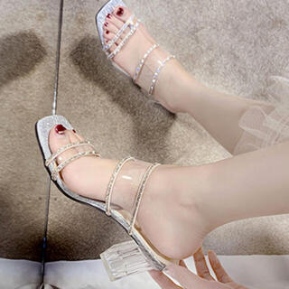 JUNOAH 靴(ハイヒール/パンプス)