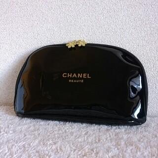 シャネル(CHANEL)の【新品 未使用】シャネル 雪の結晶 エナメル ポーチ 非売品 ノベルティ 雪印(ポーチ)