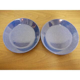 イッタラ(iittala)のpiii様専用 ティーマ ドッテドブルー プレート17㎝ 2枚 新品    (食器)