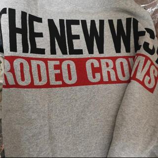 RODEO CROWNS - ロデオクラウンズ  ビッグスウェット ワンピース