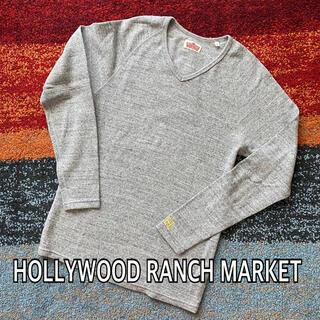 ハリウッドランチマーケット(HOLLYWOOD RANCH MARKET)のHOLLYWOOD RANCH MARKET ストレッチフライス Vネック(Tシャツ/カットソー(半袖/袖なし))