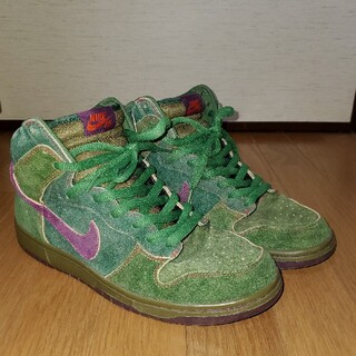 NIKE -  NIKE DUNK HIGH PREMIUM SB Skunk 420 激レア