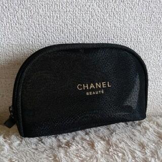 CHANEL - 【新品 未使用】CHANEL シャネル メッシュ ポーチ 黒 非売品