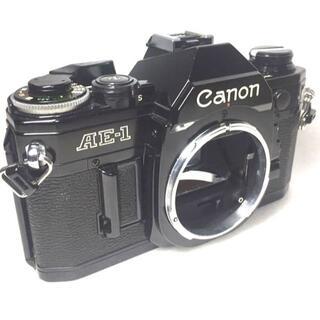 ★完動・かなり綺麗★Canon AE-1 ブラック ボディ(フィルムカメラ)