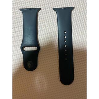 アップルウォッチ(Apple Watch)のapple watch スポーツバンド 42mm 44mm (ラバーベルト)