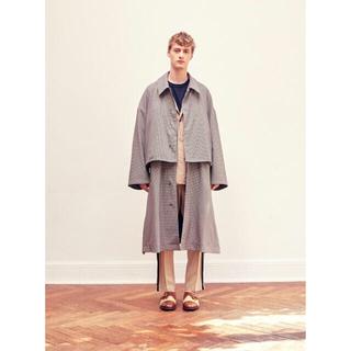 SUNSEA - yoke 19ss 3way share coat