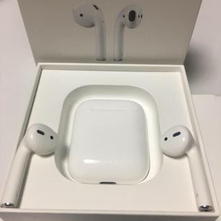Apple - エアーポッズ AirPods  美品 動作良好② 正規品