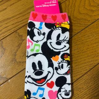 Disney - ミッキー 靴下 新品