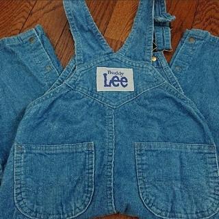 リー(Lee)のBuddy Lee オーバーオール サロペット 95 ソフトコーデュロイ ブルー(パンツ/スパッツ)