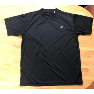 アシックス(asics)のアシックス ドライメッシュシャツ メンズM ブラック2枚(ウォーキング)