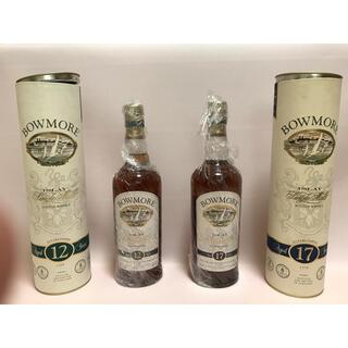 サントリー(サントリー)のボウモア12年 17年 旧ラベル 各一本 合計二本(ウイスキー)