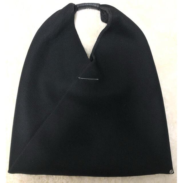 MM6(エムエムシックス)のmm6 エムエムシックス マルジェラ トライアングル トート ブラック レディースのバッグ(トートバッグ)の商品写真