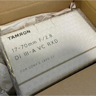 タムロン(TAMRON)の【新品未開封】TAMRON タムロン 17-70mm F/2.8   Eマウント(レンズ(ズーム))