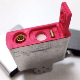 ジッポー(ZIPPO)の揮発防止ゴム1個レッド ウィック2本 フリント30個 zippo用(タバコグッズ)