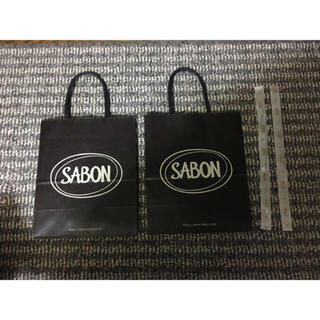 サボン(SABON)のサボン ショッパー リボン(ショップ袋)