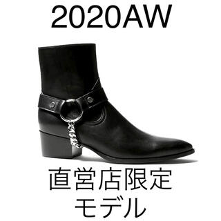 20AW新品 直営店限定モデル ガラアーベント ハーネス リング ブーツL