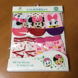 Disney - タキヒョー 新品 未開封 ミニー & デイジー 靴下 5足 セット 9~15㎝