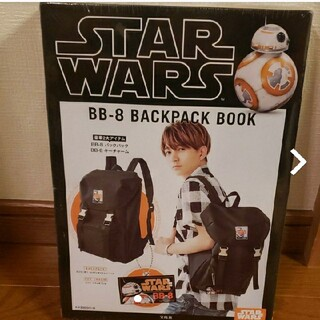 STAR WARS BB-8 BACKPACK BOOK リュック(その他)