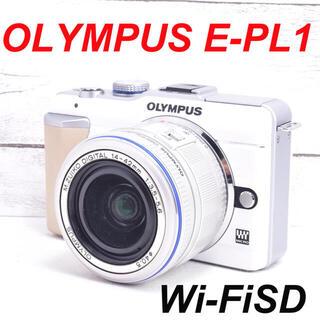 OLYMPUS - ❤️シャッター回数わずか554枚❤️スマホ転送❤️OLYMPUS E-PL1