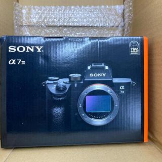 SONY - SONY (ソニー) α7III ボディ ILCE-7M3 A7III