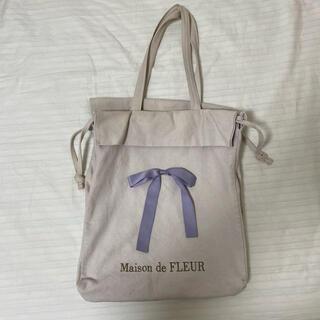 メゾンドフルール(Maison de FLEUR)のmaison de fleur キャンバス地トートバッグ(トートバッグ)