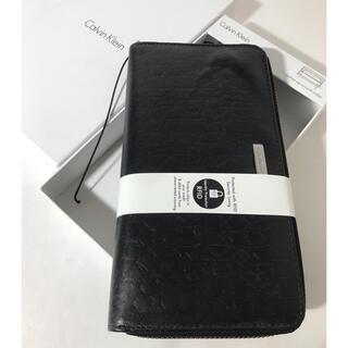 Calvin Klein - 直営店購入 新品カルバンクライン 高級牛革20680円 ラウンドファスナー財布