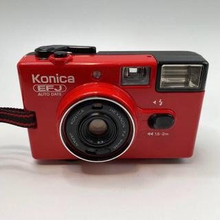 コニカミノルタ(KONICA MINOLTA)のKonika EFJ レッド(フィルムカメラ)
