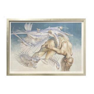 『H.R.GIGER×SORAYAMA』空山基「エディションプリント」(絵画/タペストリー)