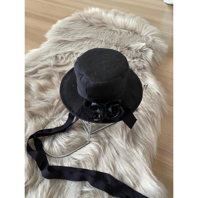 ATELIER BOZ(アトリエボズ)のミニハッド 薔薇 黒 レディースのヘアアクセサリー(その他)の商品写真