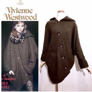 Vivienne Westwood - 希少 ヴィヴィアンウエストウッド カタログ掲載 変形 ウール コート