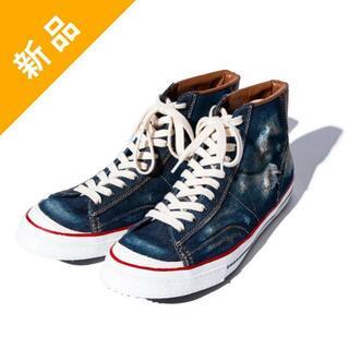 グラム(glamb)の定価3.6万・新品★glamb デニム素材スニーカー ブーツ(3・27.5cm)(スニーカー)