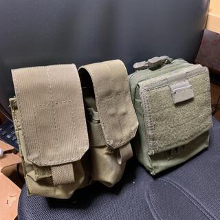 サバゲー マガジンポーチとベルトポーチセット(個人装備)