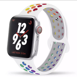 Apple Watch バンド レインボー  42/44mm