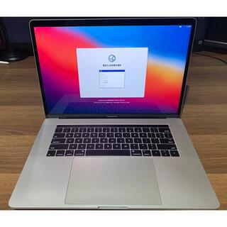 Mac (Apple) - MacBook Pro 2016 15インチ シルバー タッチバー搭載 美品