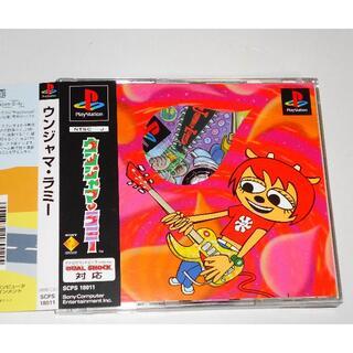 プレイステーション(PlayStation)のPS ウンジャマラミー Um Jammer Lammy 良品 初期通常版 盤面良(家庭用ゲームソフト)