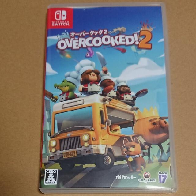 Nintendo Switch(ニンテンドースイッチ)のOvercooked 2 - オーバークック 2 Switch エンタメ/ホビーのゲームソフト/ゲーム機本体(家庭用ゲームソフト)の商品写真