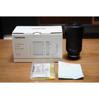 タムロン(TAMRON)の超美品 Tamron  70-180mm F/2.8 Di III VXD (レンズ(ズーム))