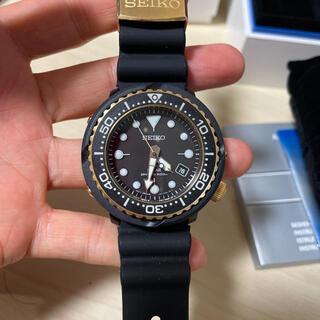 セイコー(SEIKO)のセイコー ダイバー SNE498P1   ゴールド ソーラー  20気圧防水(腕時計(アナログ))