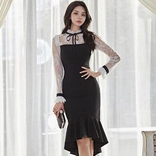 【本日限定セール】ROBEジャンル♡韓国ファッション 量産型キャバドレス 可愛い(ナイトドレス)