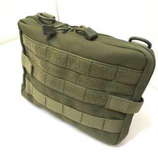 タクティカルポーチ 医療用ポーチ 工具バッグ 救急バッグ フィッシングポーチ 緑(個人装備)