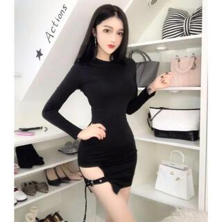 【本日限定セール】ZARA系韓国ファッション♡kpopアイドル系キャバドレス(ナイトドレス)