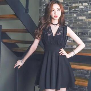 【本日限定セール】ROBE系韓国ファッション♡レース切り替えキャバドレス(ナイトドレス)