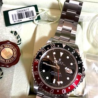 ROLEX - ロレックス GMTマスターII Ref.16710 D品番 スティックダイヤル