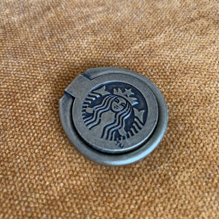 Starbucks Coffee - スタバ スマホリング ゴールド スターバックス