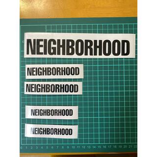 カッティングステッカー  neighborhood 5枚 セット