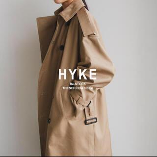 HYKE - HYKE トレンチコート BIG     サイズ2