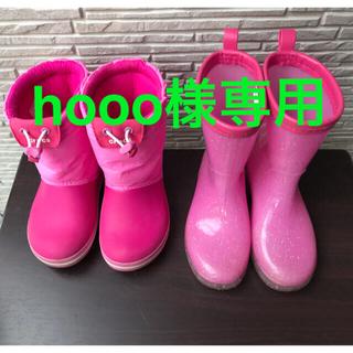 クロックス(crocs)のクロックス スノーブーツ 女の子 レインブーツ 長靴(ブーツ)